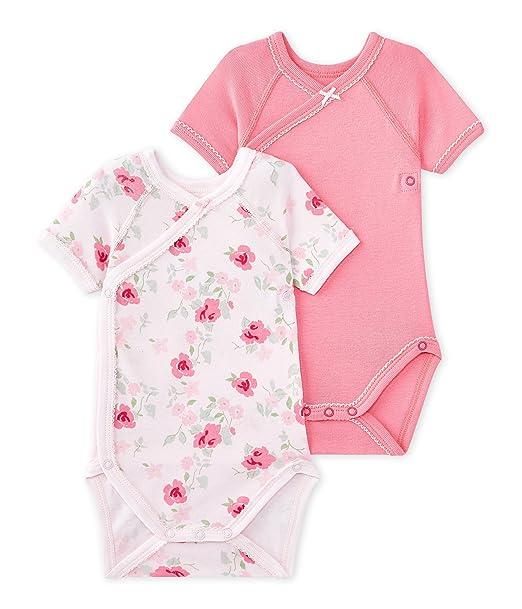 Petit Bateau X2 Nais MC Val AJF, Conjunto de Ropa Interior para Bebés, (