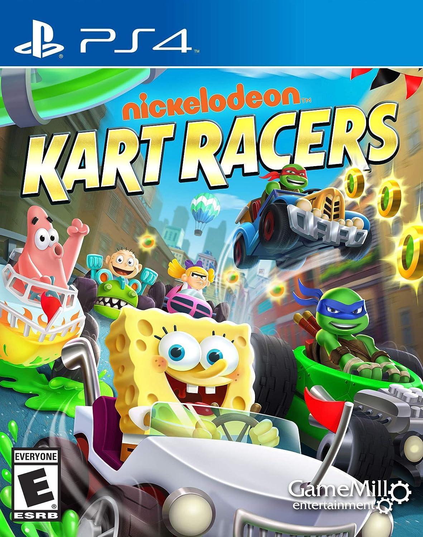 Amazon com: Nickelodeon Kart Racers - Nintendo Switch: Game