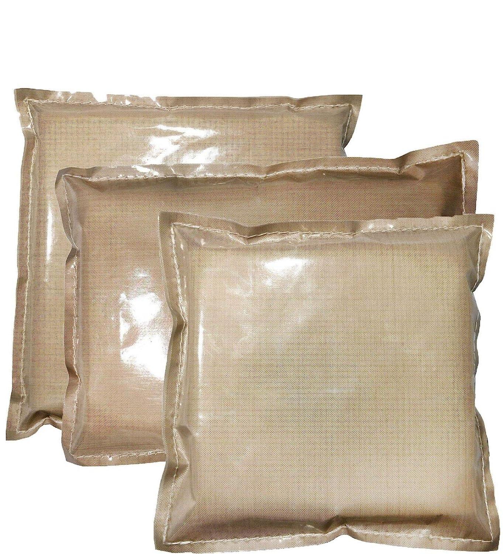 Sntieecr 12 x 12 Inch Heat Press Pillow Heat Pressing Transfer Pillow Pillow Made of Teflon Reusable Heat Resistant for Heat Press Project