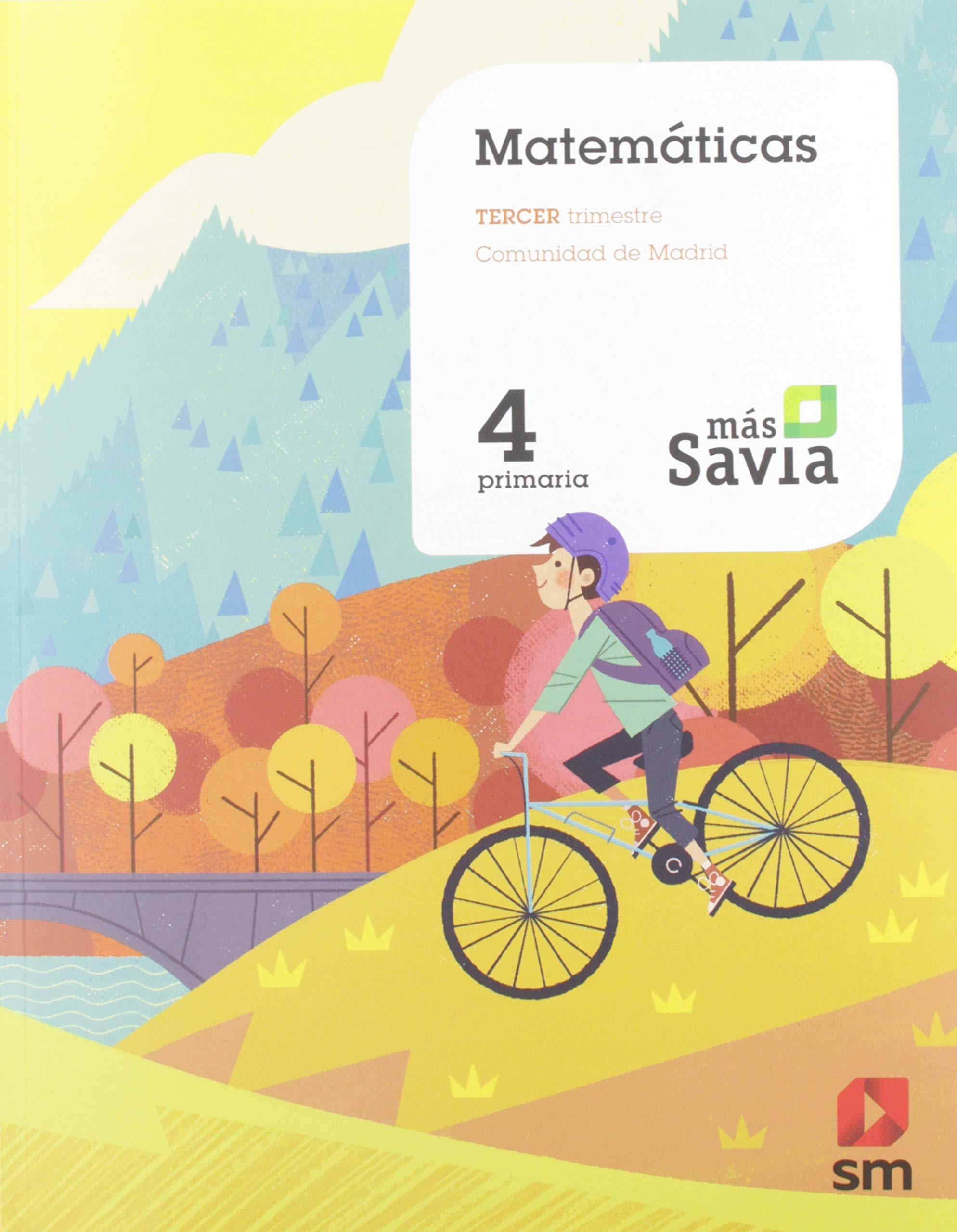 Matemáticas. 4 Primaria. Más Savia. Madrid: Amazon.es: Garín Muñoz ...