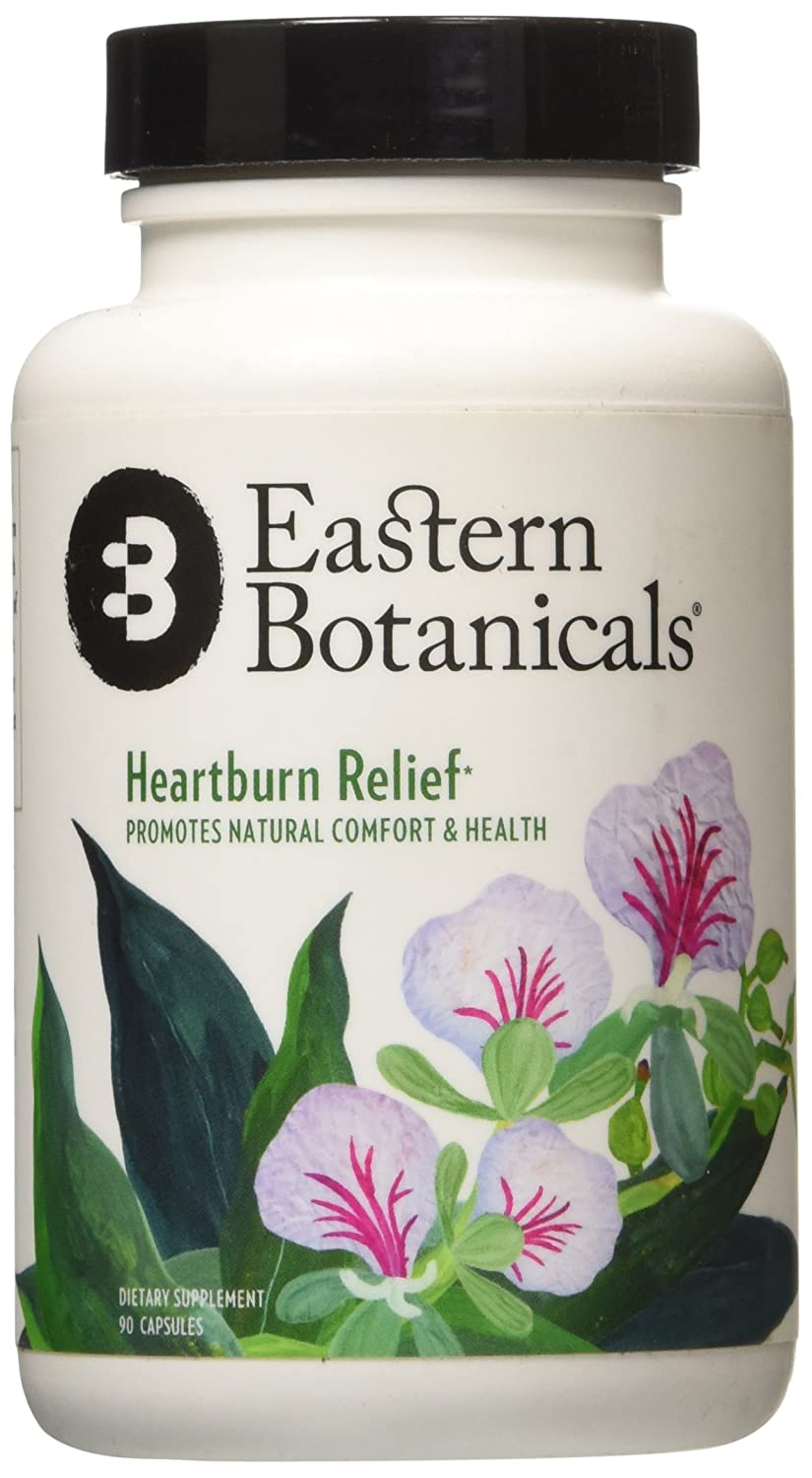 Amazon.com: Eastern Botanicals Natural Heartburn Relief Supplement, Balanced Acid Supports Against Bloating, Stomach Cramps, Indigestion Pain, ...