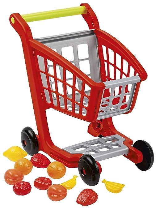Supermercato Della Ceramica 2000 Srl.Smoby Ecoiffier 7600001225 Carrello Supermercato Con Accessori
