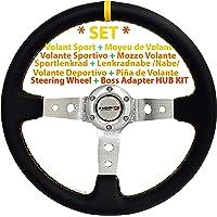 [SET-34Y+DTi-70] DoradoTuning Volante Profundo & Piña de Volante/Eje