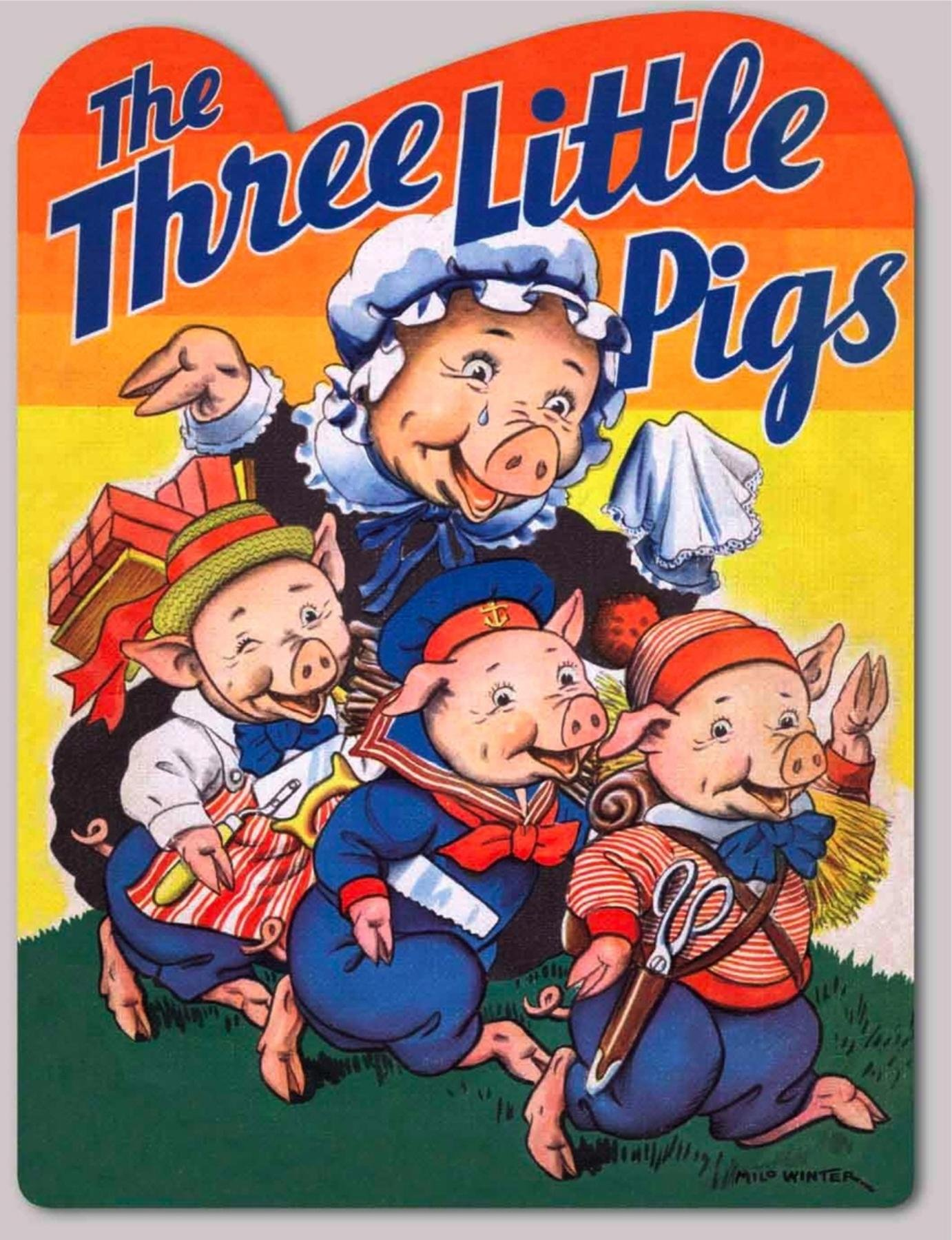 Download The Three Little Pigs (Shape Books) PDF