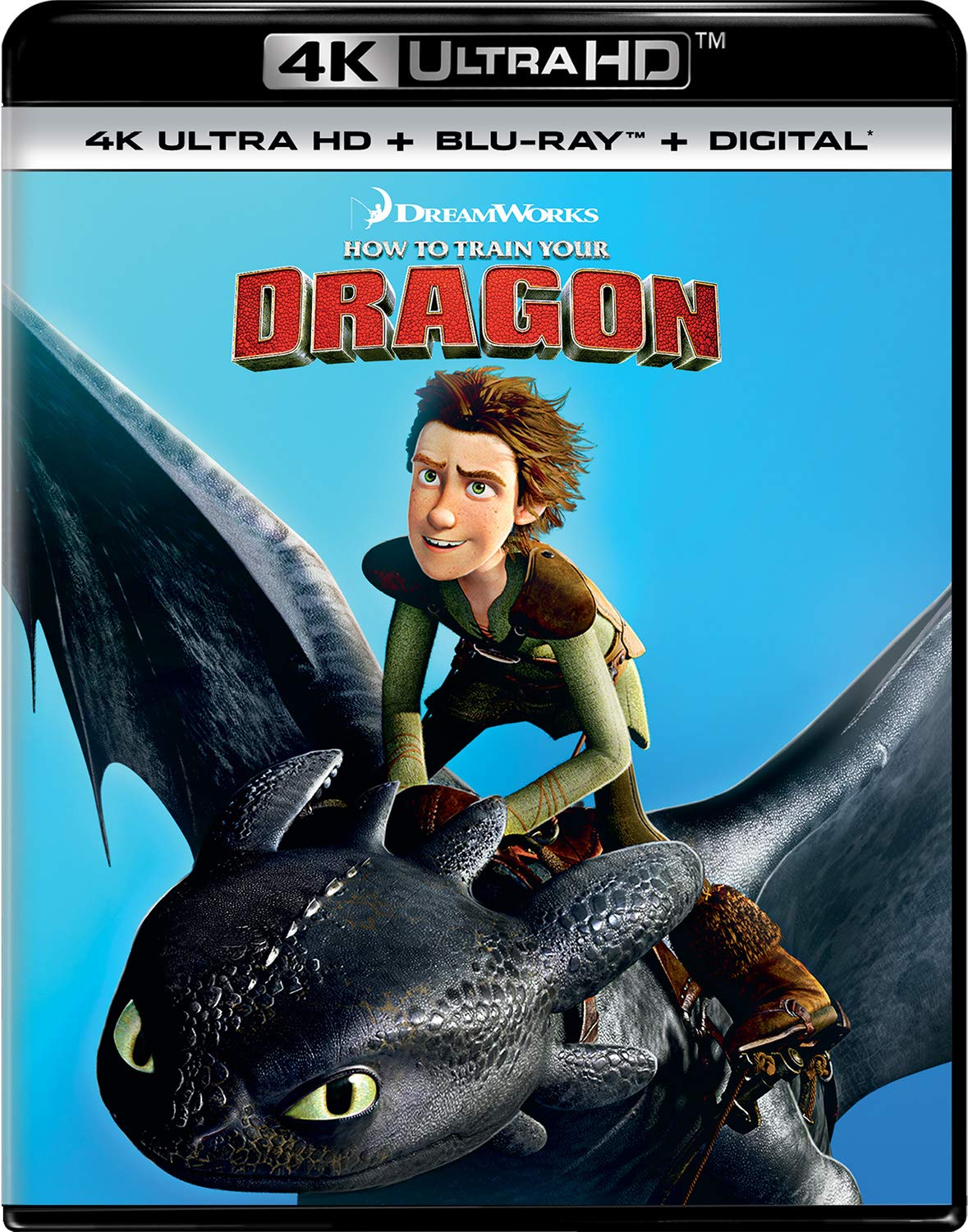 4K Blu-ray : How To Train Your Dragon (With Blu-ray, 4K Mastering, Digital Copy, 2 Pack)