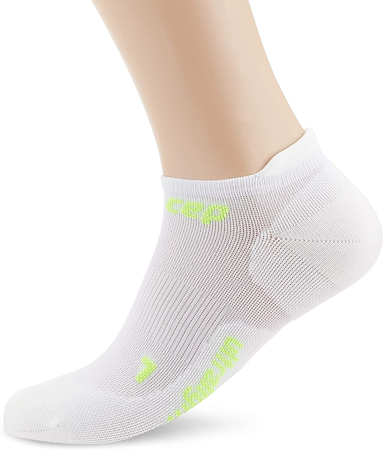 CEP Men's No Show Compression Ultralight Running Socks
