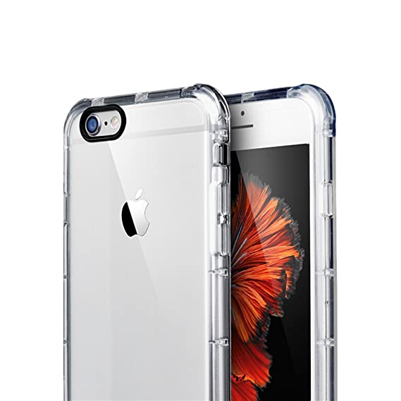 more photos 23282 29e3f iPhone 6S Clear Case, TPU Transparent Silicone Case Apple Accessories Thin  iPhone 6S Clear Bumper Case