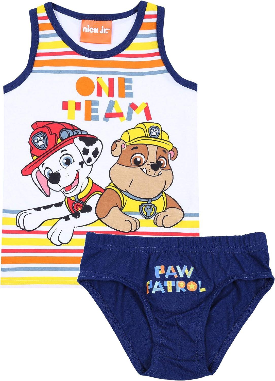 sarcia.eu Camiseta+Calzoncillos Patrulla de Cachorros 7-8 años: Amazon.es: Ropa y accesorios