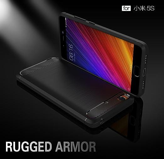 Amazon.com: Xiaomi Mi 5s Case - TianTa - Carbon Fiber Case ...