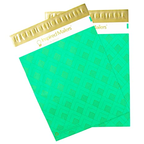 Amazon.com: Inspired Mailers Poly Mailers – Impresiones de ...