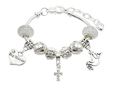 8e9b80906c056a Confirmation Message Charm Bracelet for Girls with Gift Box - 11 Message  Options To Choose From