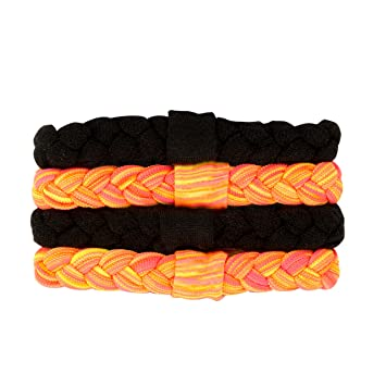 Amazon.com   Goody Ouchless Sport Braided Ponytailers fa0a1fc4ad5