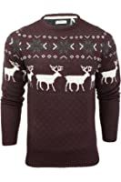 Mens Christmas Jumper Xmas / Reindeer by Xact
