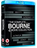 Bourne 4 Movie Collection [Reino Unido] [Blu-ray]