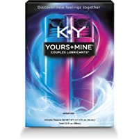 K-Y Yours & Mine Couples Lubricant, 3 oz, Lube for Him and Her