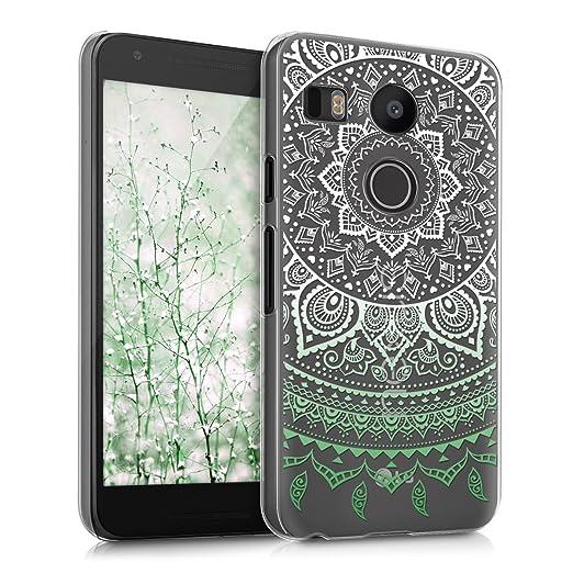 13 opinioni per kwmobile Cover per LG Google Nexus 5X- Custodia trasparente per cellulare- Back