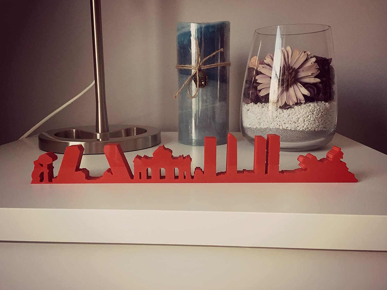 Artenea 3D Skyline Madrid Impresión 3D. Decoración Personalizable ...