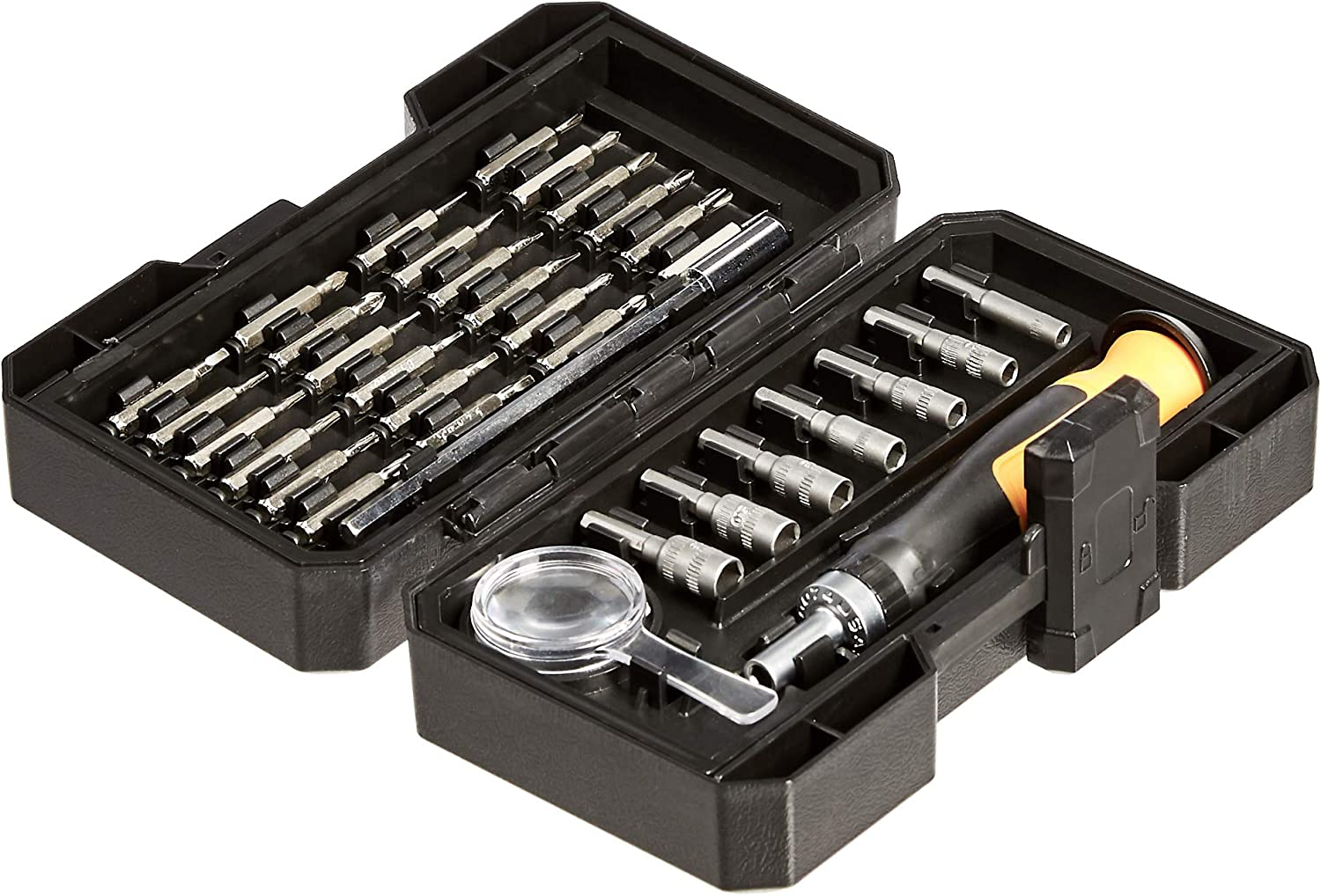 Basics Precision Ratcheting Driver and Bits Set 34-Piece