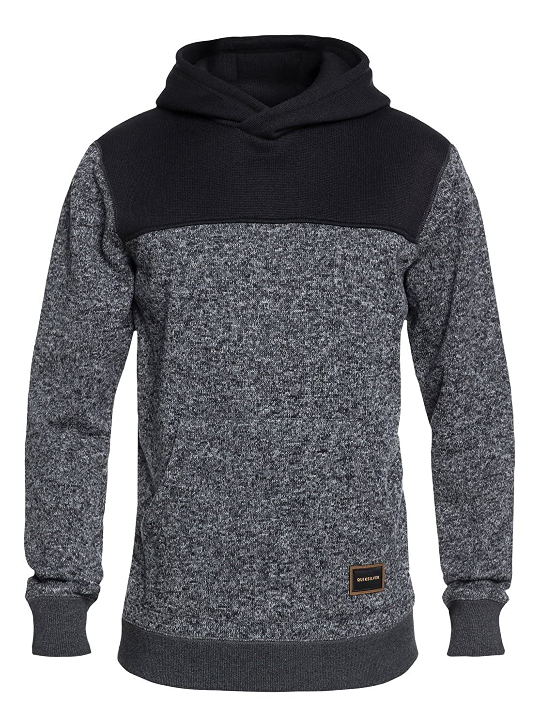 1564c5ef72c946 Amazon.com  Quiksilver Men s Keller Block Hood Fleece Pullover  Clothing