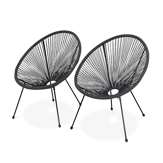Alices Garden - Juego de 2 sillones de diseño de Huevo ...