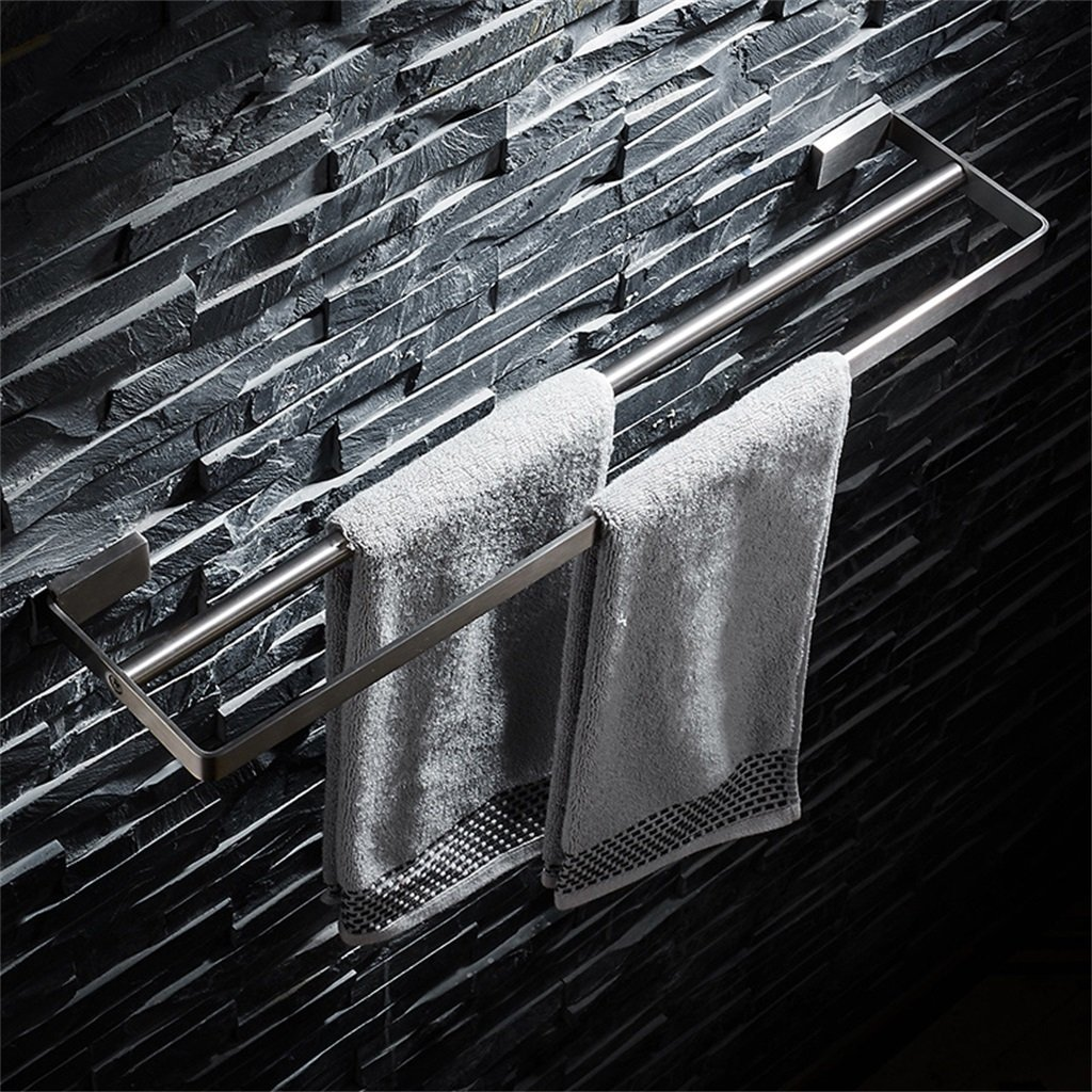 Accesorios de cocina de bantilde;o moderno Barra de de de toalla 304 Toallero de acero inoxidable Toallero doble Toallero Toallero Toallero de pared para bantilde;o Balcoacute;n Cocina moderna y simple, 5 tamantilde;os Opciones F aeefc9