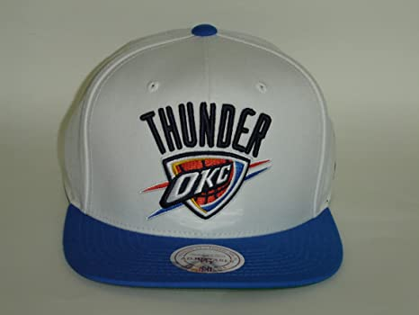 the best attitude 4e7a7 3e650 Image Unavailable. Image not available for. Color  Mitchell and Ness Oklahoma  City Thunder NBA 2Tone ...