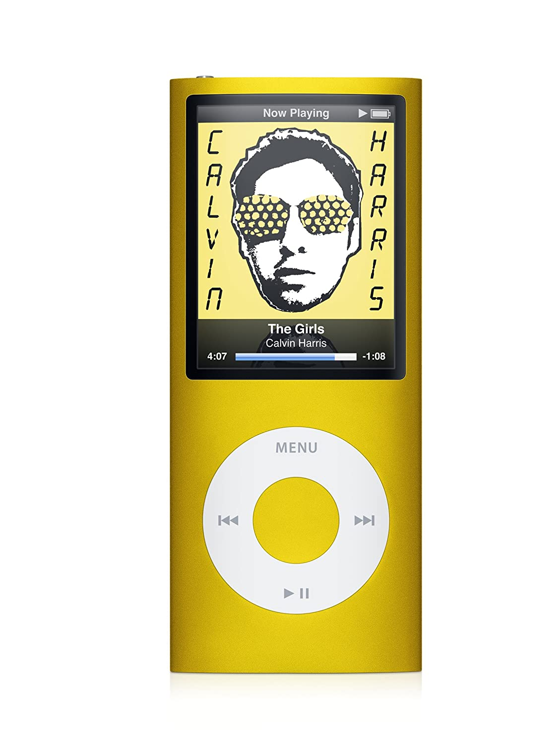 Amazon.com: Apple iPod nano 8 GB Yellow (4th Generation) (Discontinued by  Manufacturer): Home Audio & Theater
