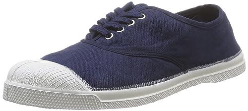 Bensimon Tennis Lacets, Zapatillas Para Mujer, Azul (Bleu Vif), 36 EU