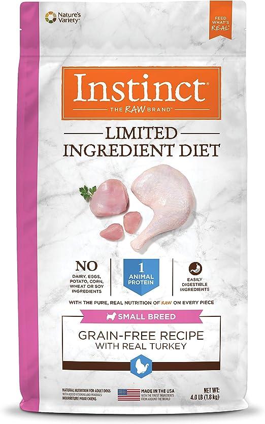 Instinct Limitada ingrediente Recetas Dieta sin Grano Natural ...