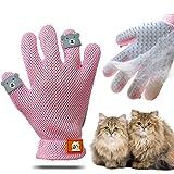 ENGERWALL New Upgrade Pet Grooming Glove - Gentle