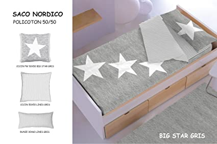 Saco Nordico con Relleno Big Star (Gris)