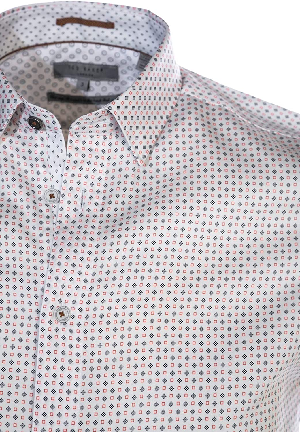Ted Baker Sortit Short Sleeve Shirt in White