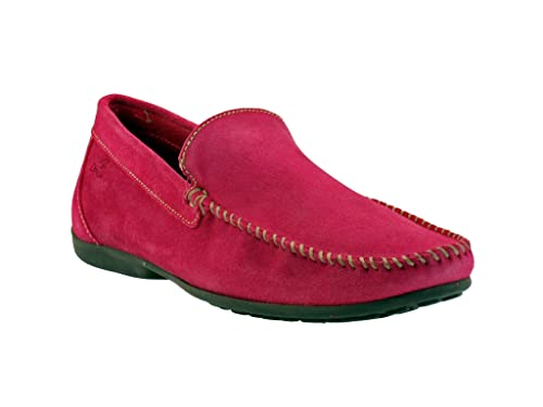 DingobyFluchos - Mocasines para Hombre Rosa Fucsia 46: Amazon.es: Zapatos y complementos
