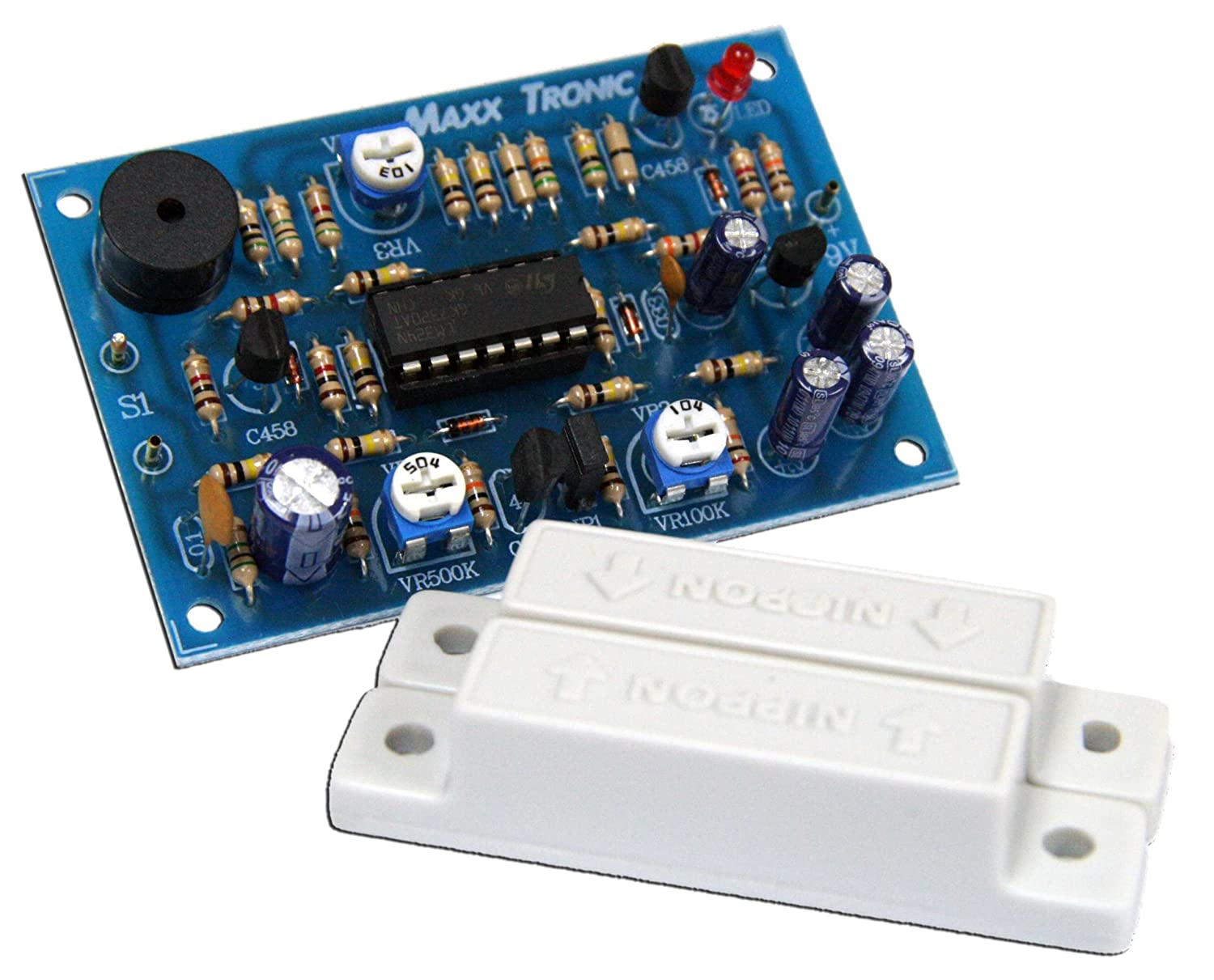 Door Windows Alarm With Time Delay 10 160seconds Refrigerator Circuit Assembled Kit 9 12vdc Mxa077 Everything Else