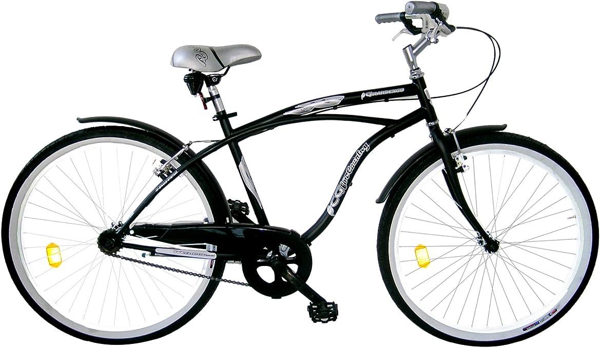 Girardengo Bicicleta Urban Cruiser Grafito 26: Amazon.es: Deportes ...