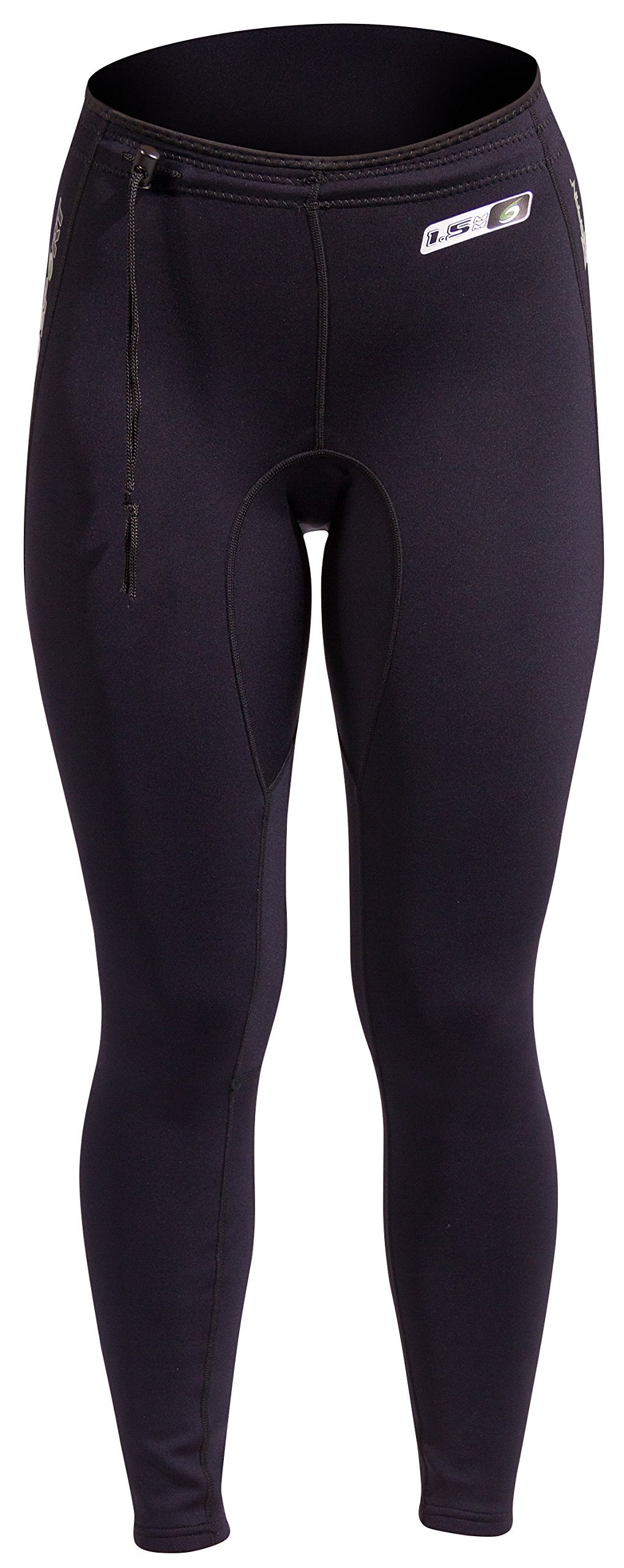 NeoSport Wetsuits XSPAN Pants, Black, Medium - Diving, Snorkeling & Wakeboarding by Neo-Sport