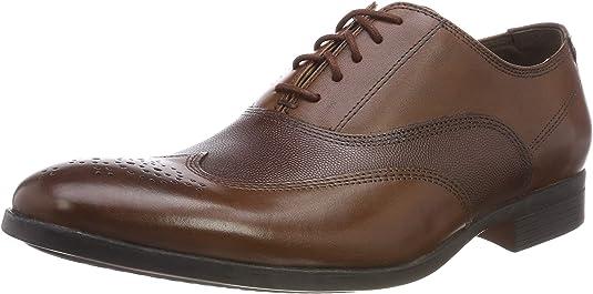 Clarks Gilmore Wing, Zapatos de Cordones Brogue para Hombre