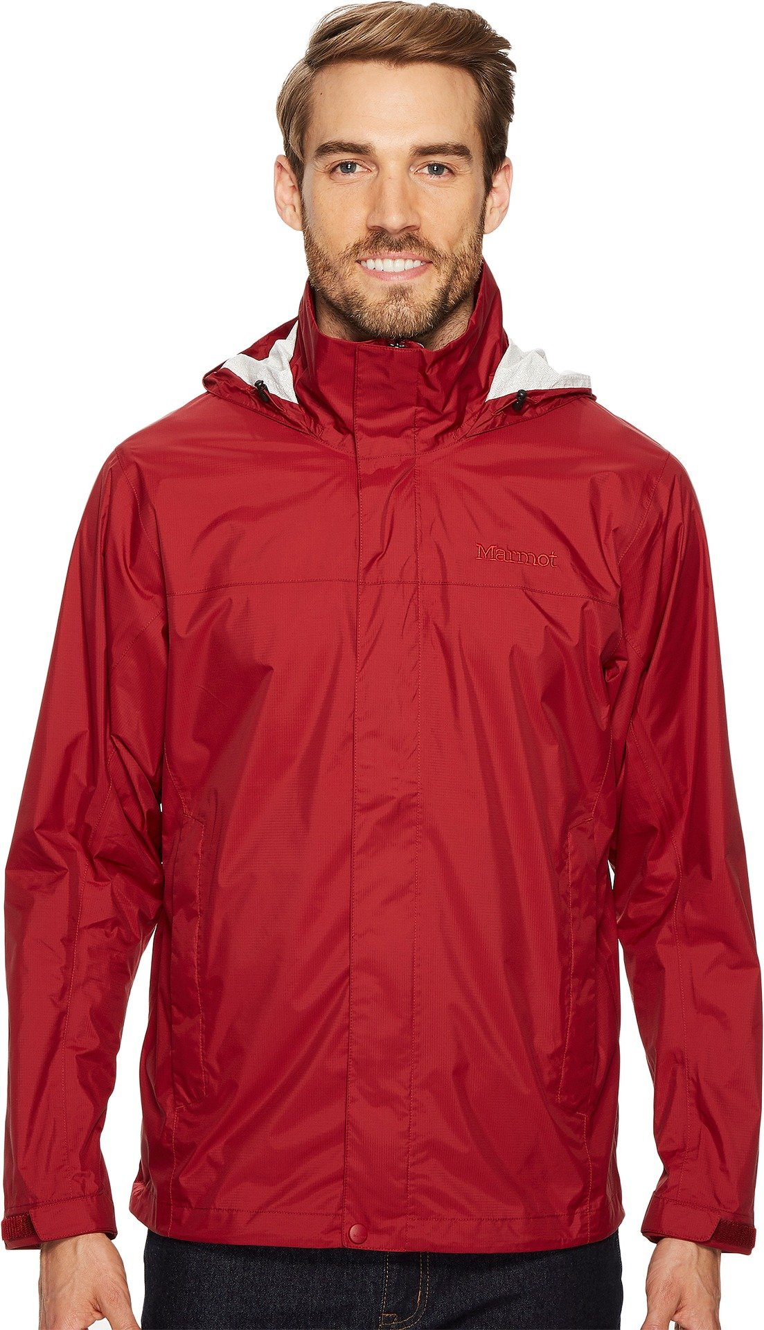 Marmot Men's PreCip Jacket Brick Large