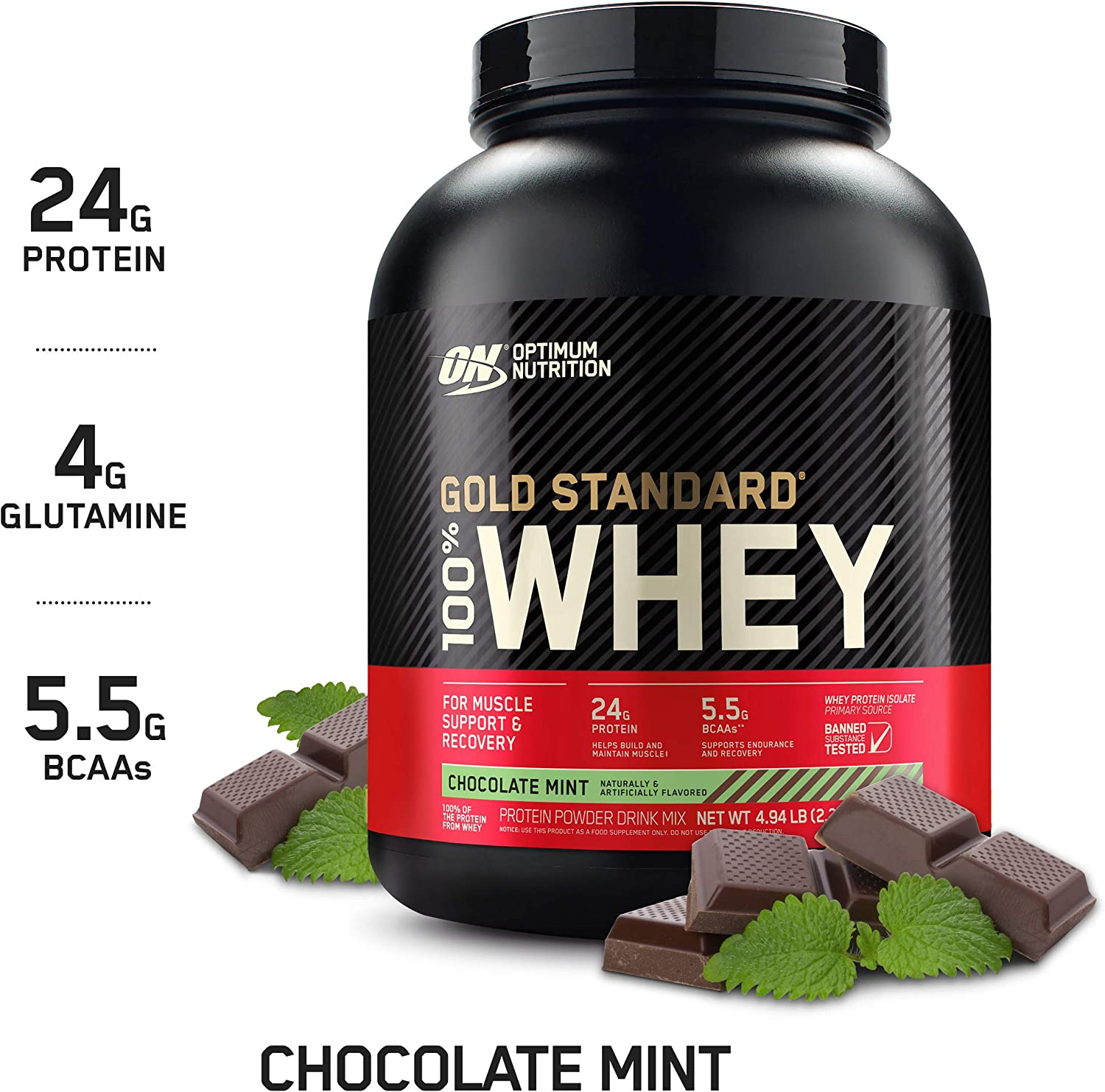 Optimum Nutrition Gold Standard Whey Protein Powder review