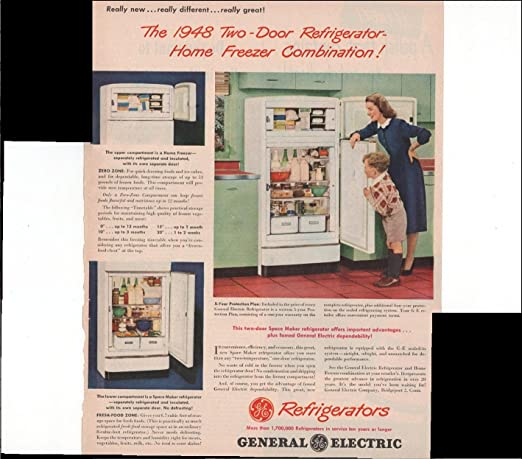 General Electric Refrigerator Vintage