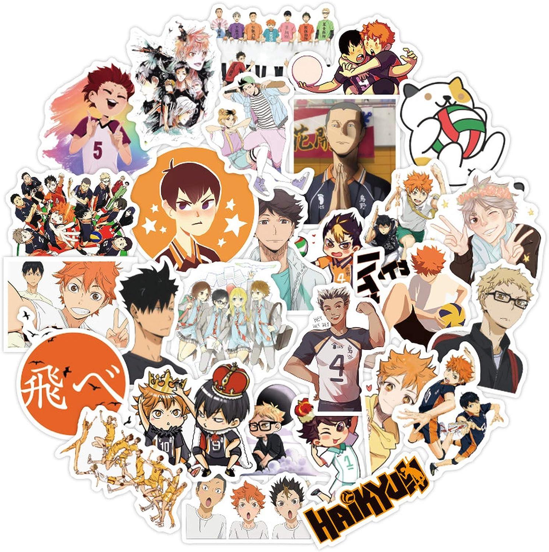 Haikyuu stickers pack 50 or 100 random set