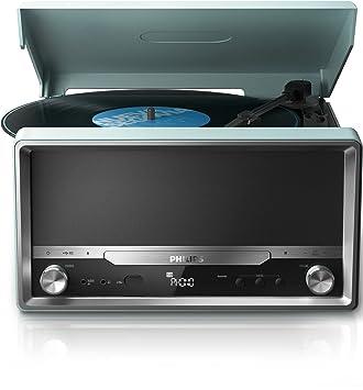Amazon.com: Philips ott2000 Turntable LP Vinyl Record ...