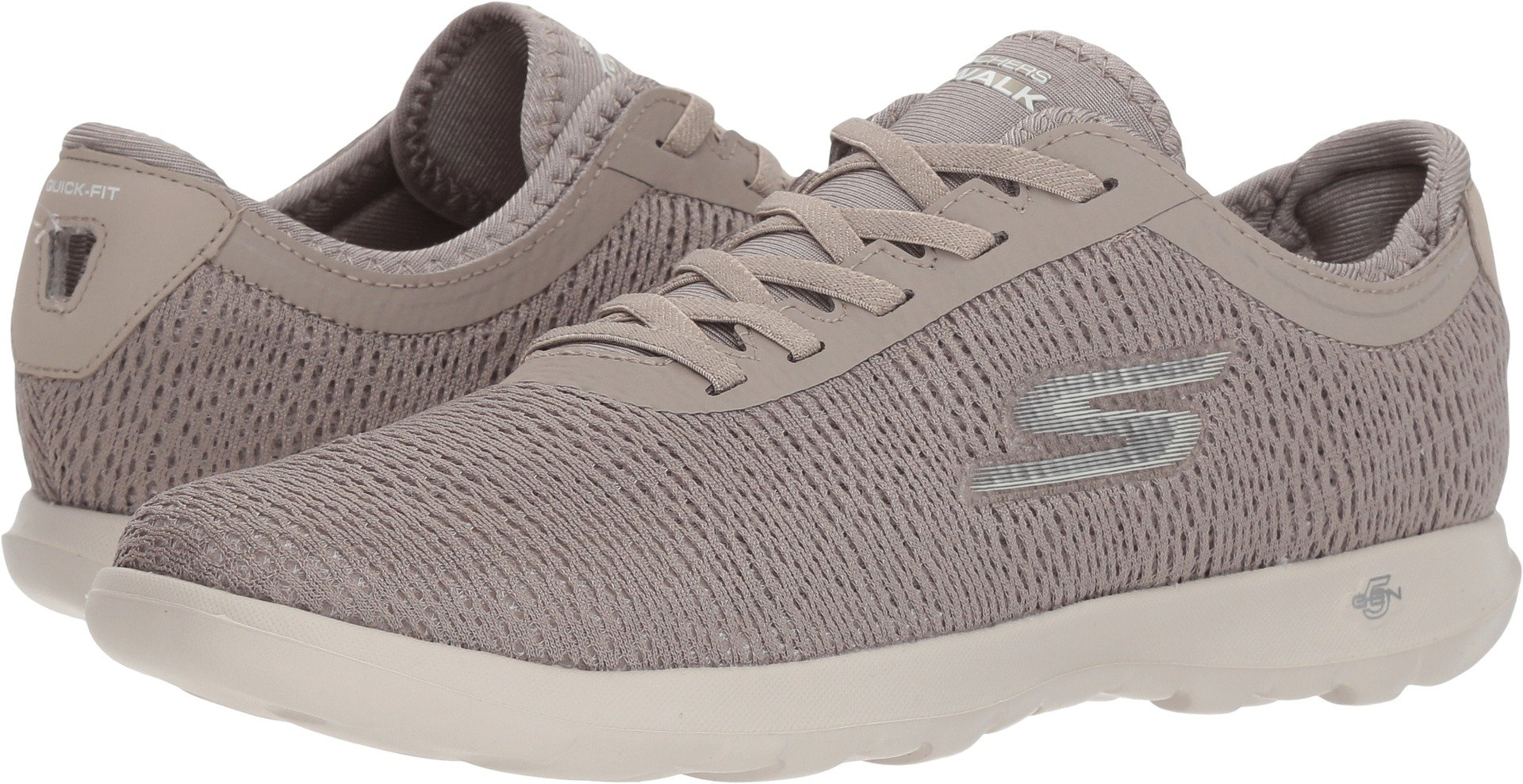 Skechers GOwalk Lite - Savvy Taupe Womens Sneakers Size 8M