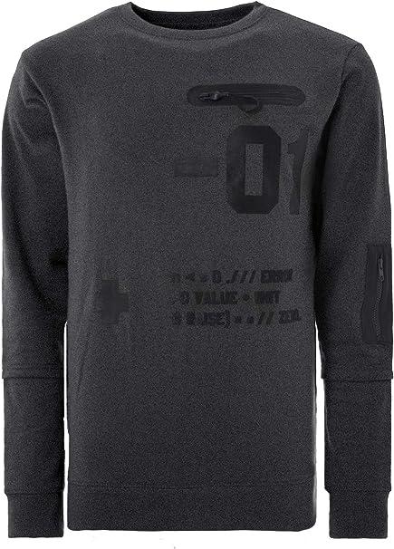 Soulstar Side Tape Hooded Sweatshirt  Mens Size