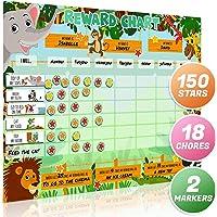 Luigi's Large Safari Animal Magnetic Star/Reward Chart For