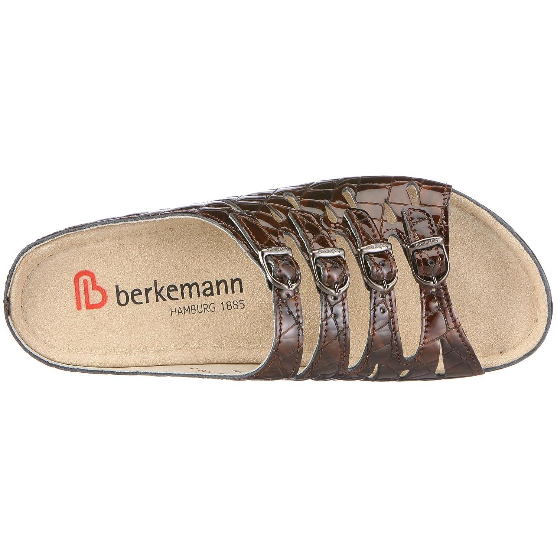 Berkemann Hassel Damen Pantoletten, Braun (Braun), 38