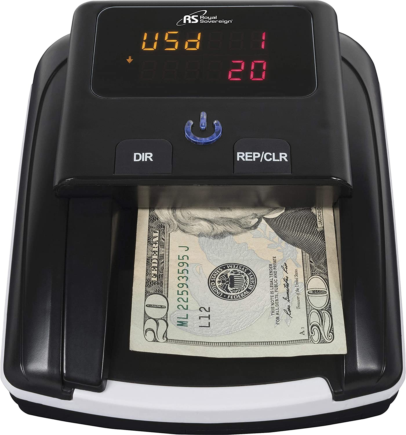 Royal Sovereign Quick Scan Counterfeit Bill Detector (RCD-3120) : Office Products