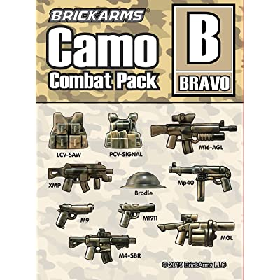 BrickArms Camo Combat Pack Bravo: Toys & Games