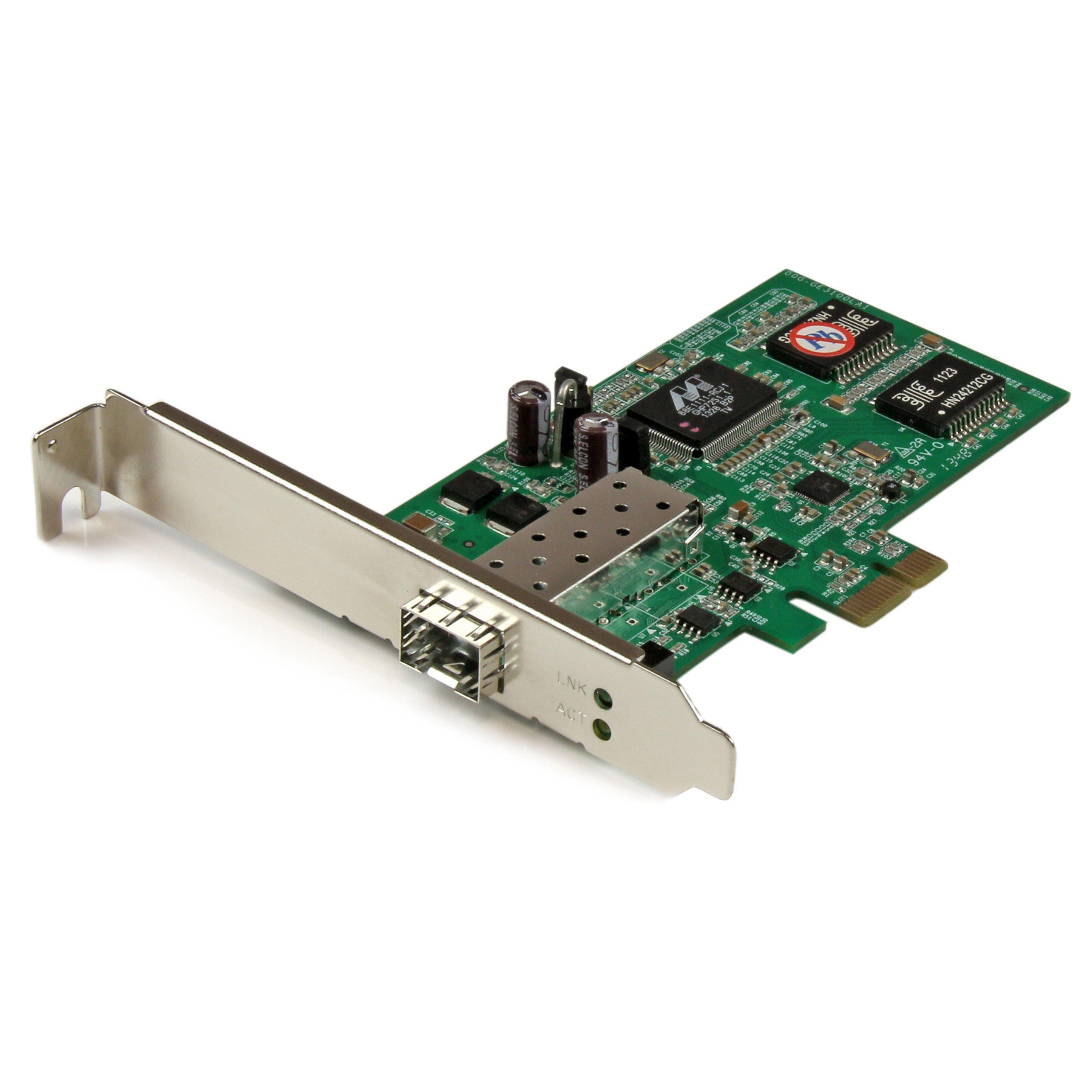 StarTech.com PCI Express Gigabit Ethernet Fiber Network Card with Open SFP (PEX1000SFP2) by StarTech