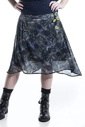 Mamatayoe Sunset Falda para Mujer